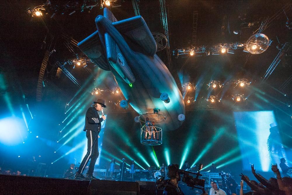 Udo Lindenberg auf der Bühne