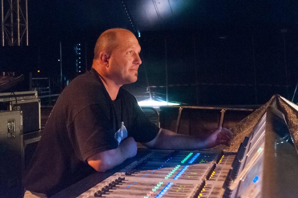 Begeistert sich für Veranstaltungstechnik: Berthold Blocher