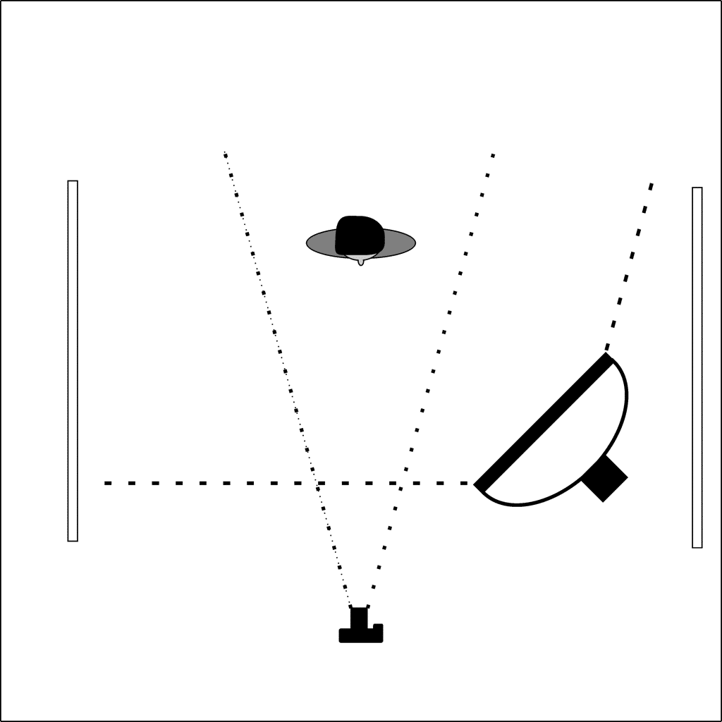 Ein Punkt Beleuchtung c_vers9