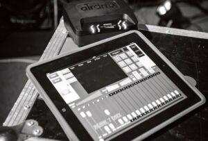 Lichtsteuerung mit iPad - DMX Steuerung