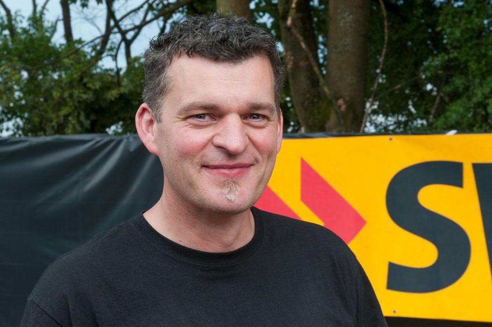 Marco Deinl pflegt bei TW Audio Marktkontakte und leistet Support