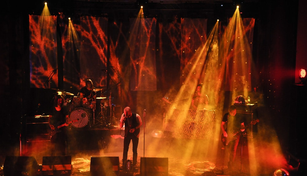 Selig auf der Bühne