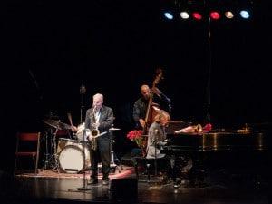 Helge Scheider auf der Bühne