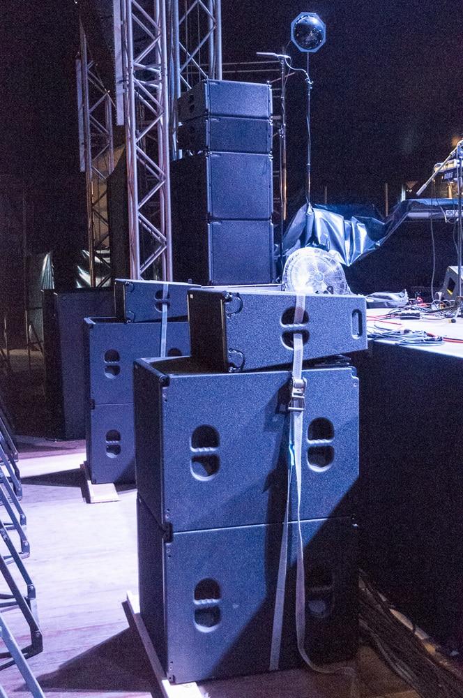TW-Audio VERA36 als Frontfill