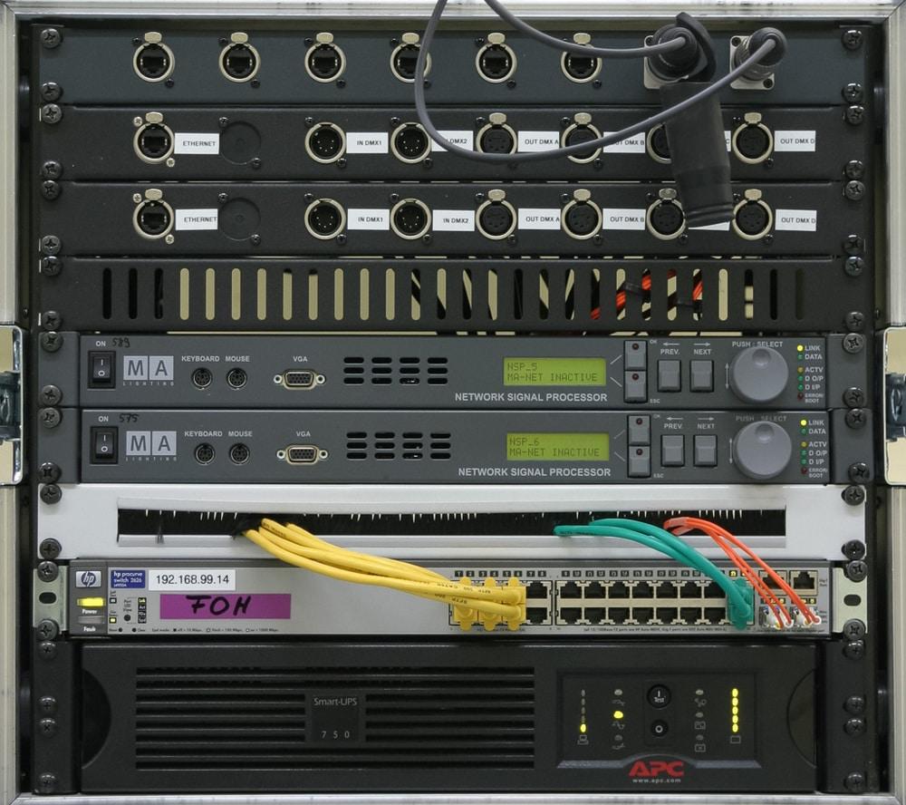 Komponente unten: USV
