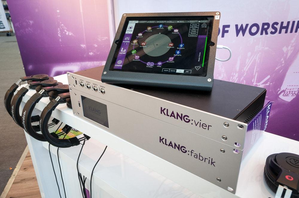 Klang Technologies Klang Fabrik, Klang vier und App