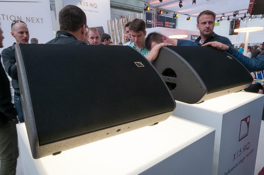 Robuste L-Acoustics X Series mit Koax