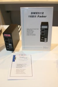Stageline DMX512 16-Bit Fader