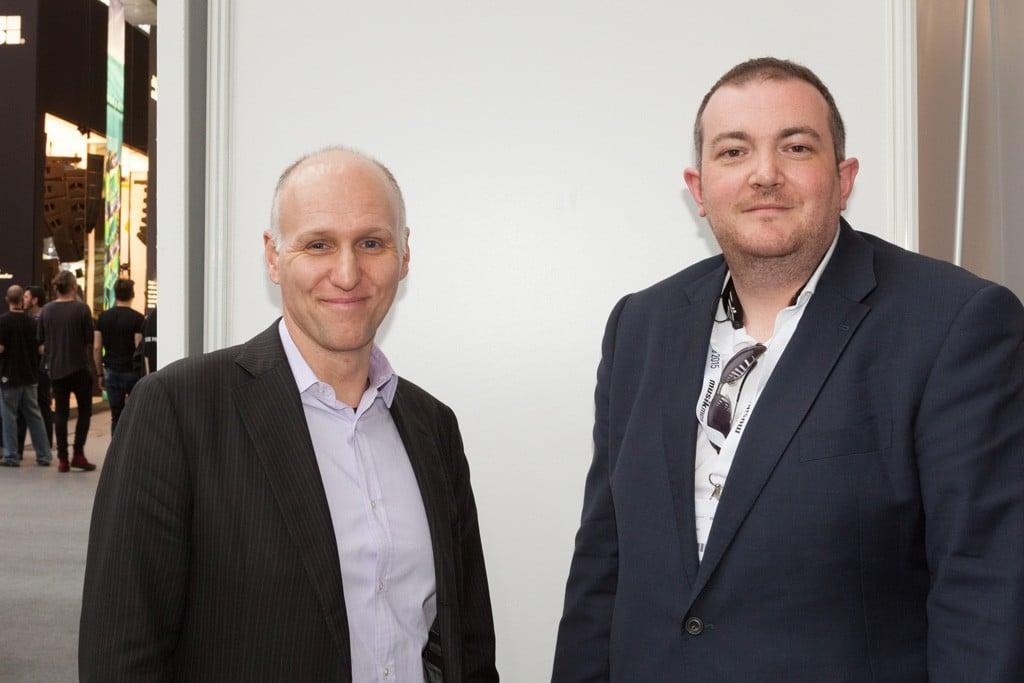 John Rechsteiner (l.) und Kieran Walsh von Audinate
