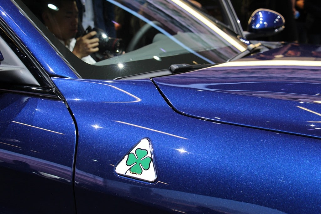 Alfa Romeo Giulia Details IAA 2015