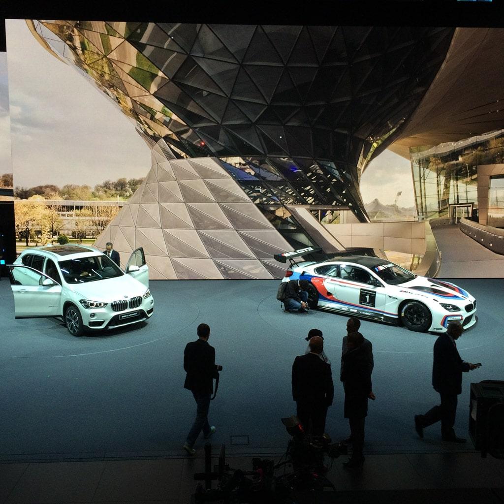 BMW Messestand 03 auf der IAA 2015