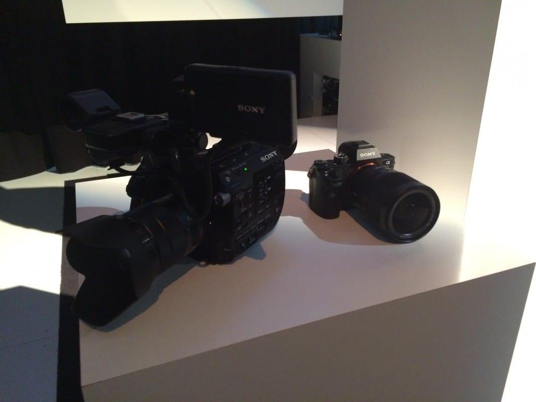 Sony PXW-FS5 und A7Sll auf der IBC 2015