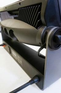 Gelungenes und wertiges Design: Lediglich die Lüftereinheit erhöht die ansonsten flache Bauform des Kopfes