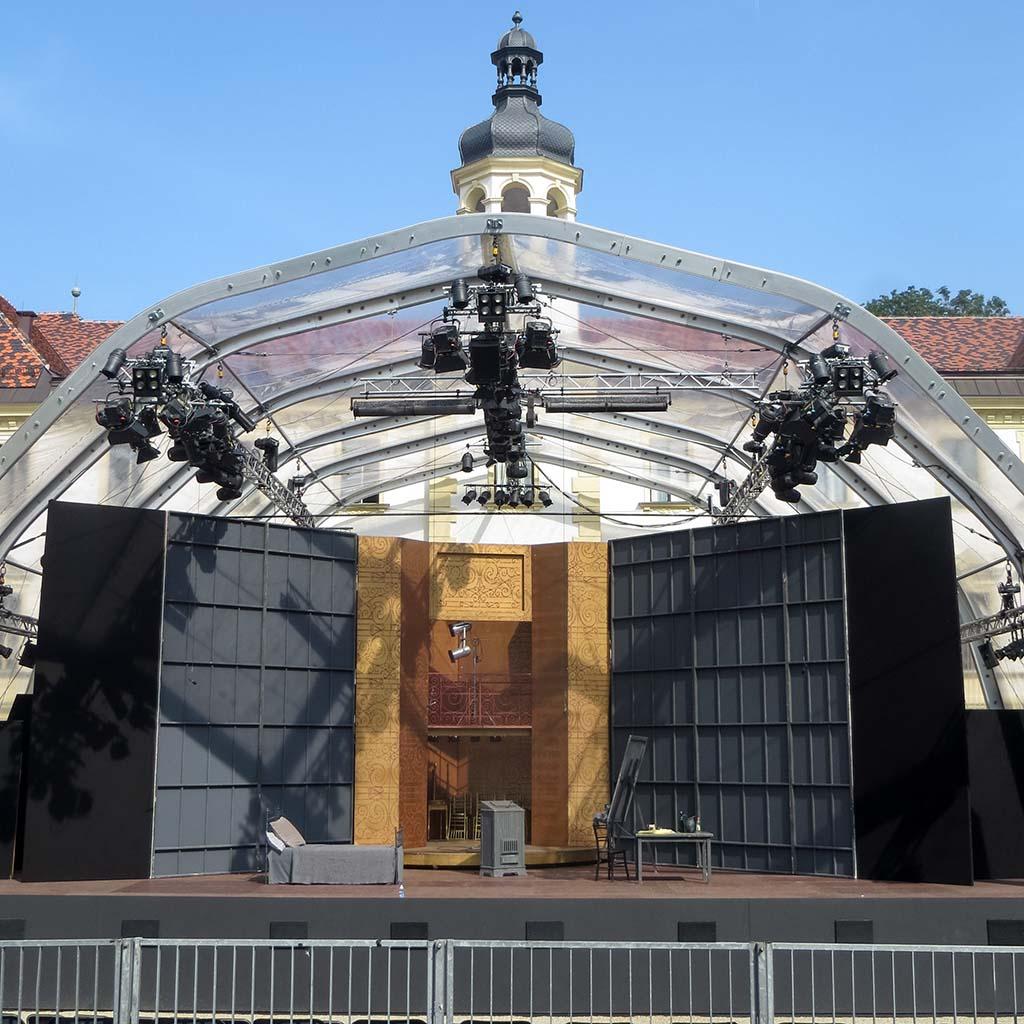 FoH-Blick auf die Bühne