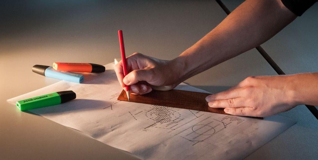 Wie kommt der Plan auf Papier13