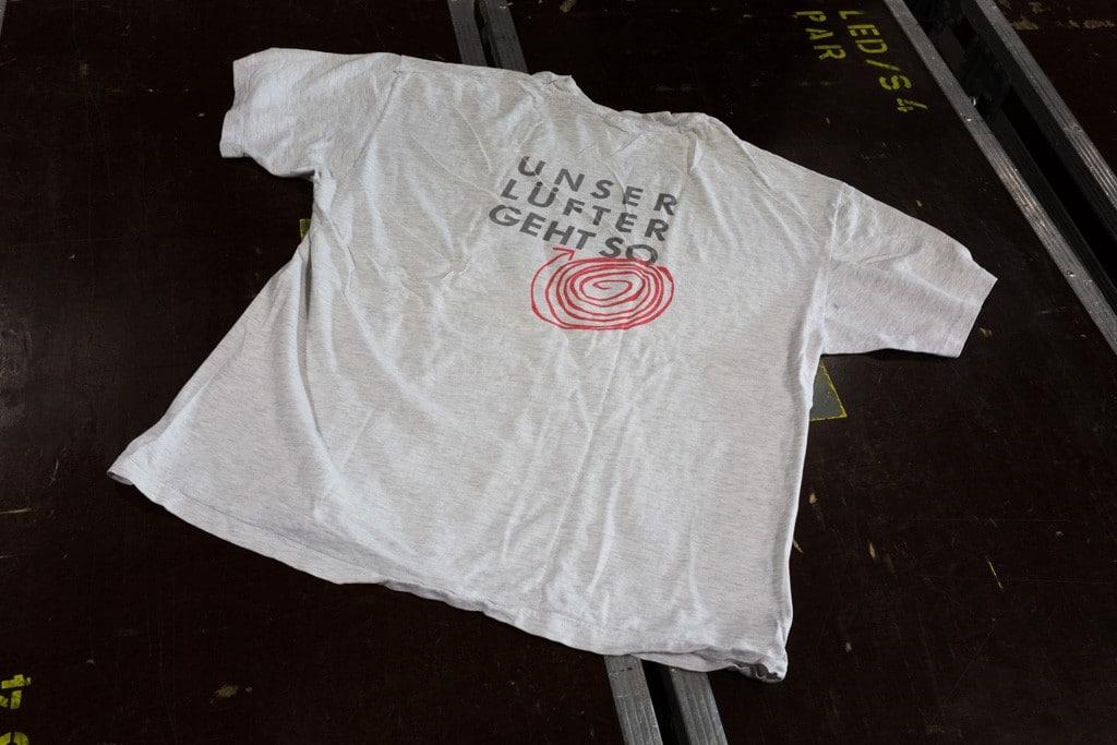 25 Jahre Production Partner: T-Shirts