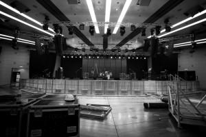 verwaiste Bühne
