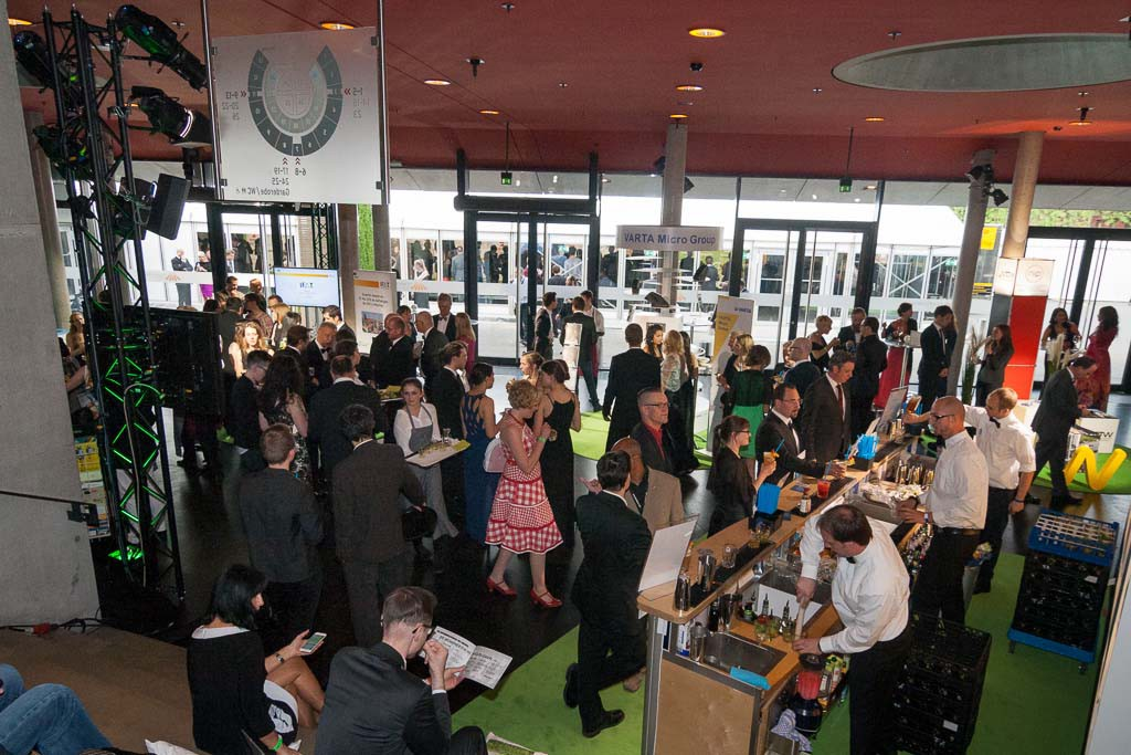 Foyer bei den Green Tec Awards 2015