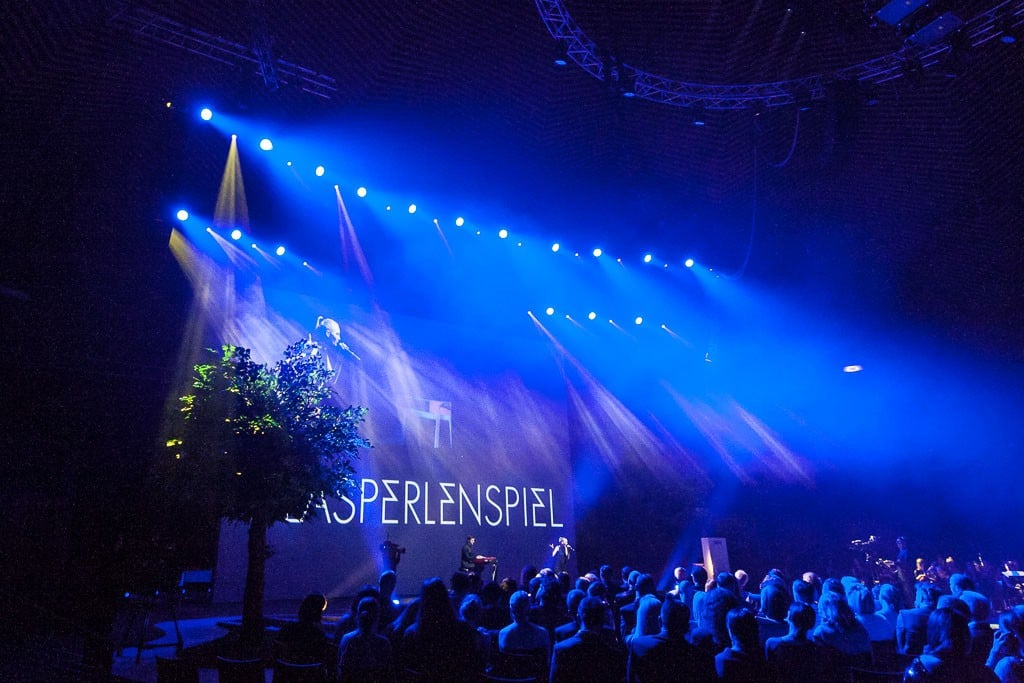 Glasperlenspiel bei den GreenTec Awards 2015