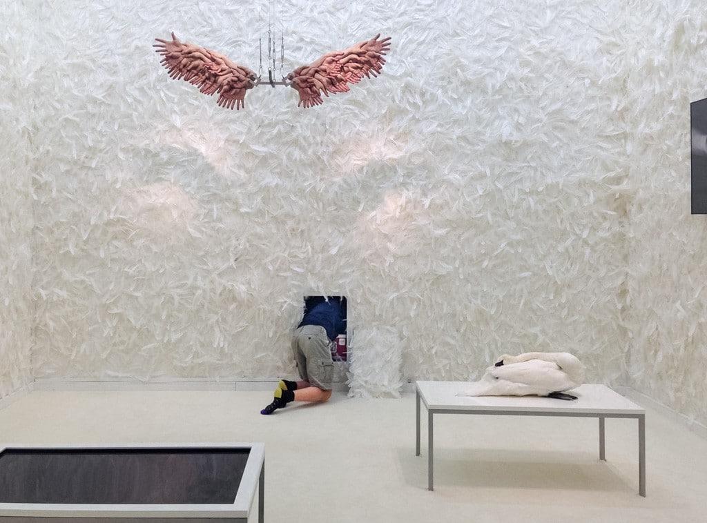 """Greenaway & Boddeke Installation """"Gehorsam"""" im Jüdischen Museum Berlin"""