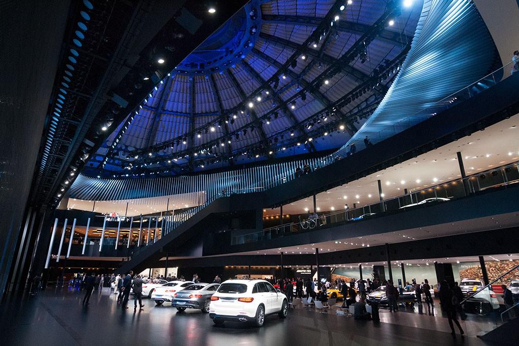 Mercedes-Benz Halle, IAA 2015