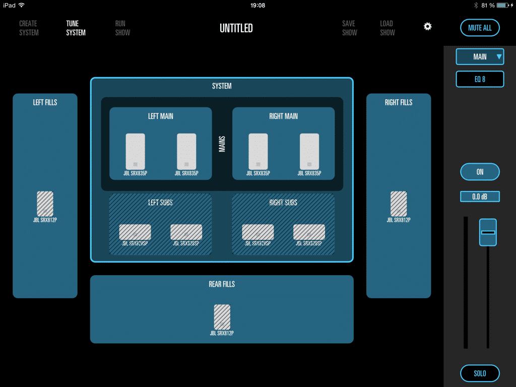 JBL iPad App