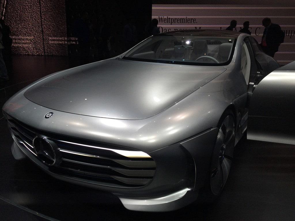 Mercedes Concept auf der IAA 2015