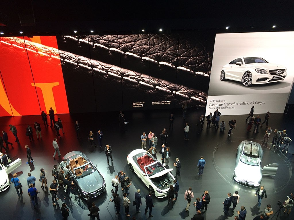Mercedes-Benz Halle auf der IAA 2015