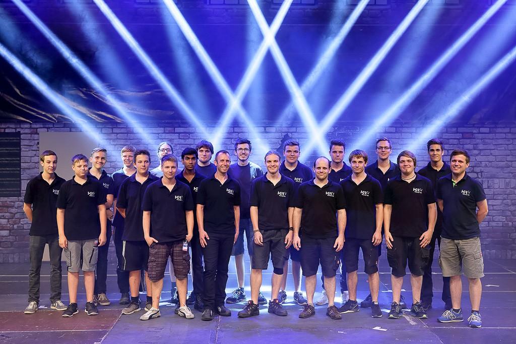 Team beim HGR Musical