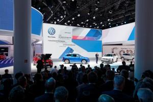 VW-Fahrzeugpräsentation