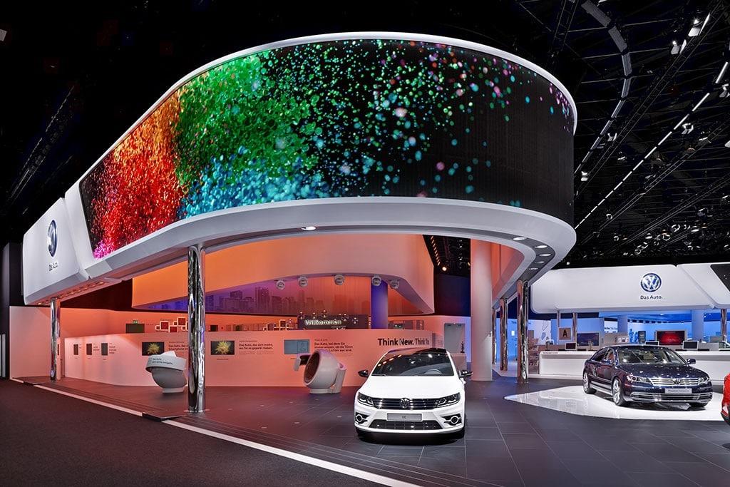 VW Stand auf der IAA 2015
