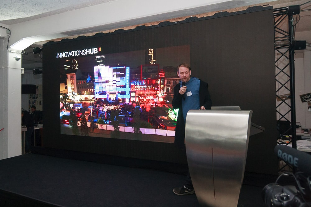 Keynote von Thorsten Bauer (Urbanscreen)