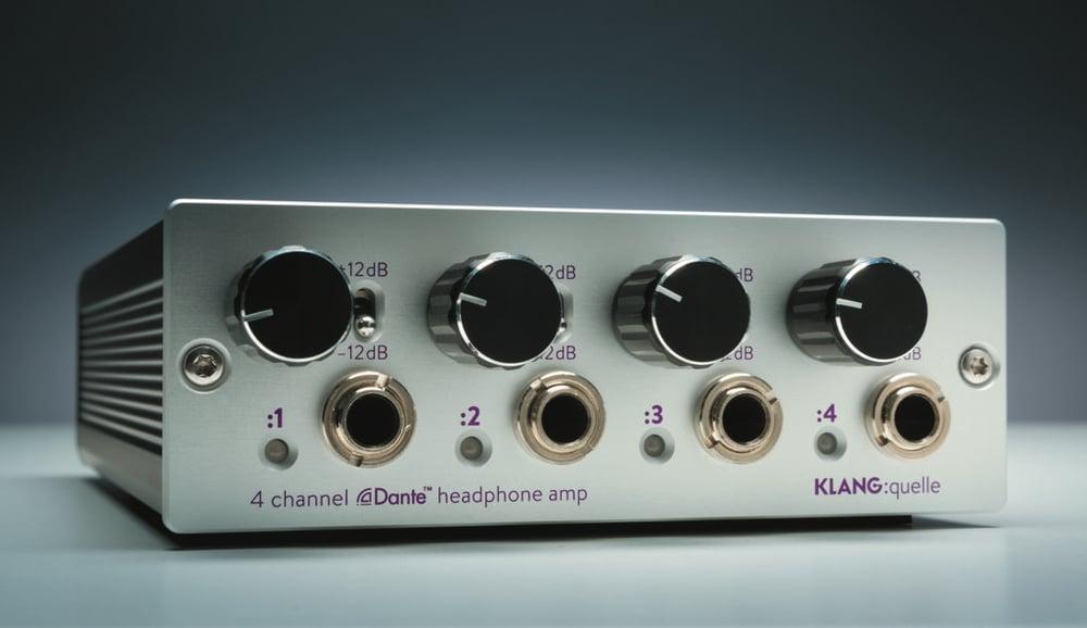 Dante-Netzwerk-Kopfhörerverstärker