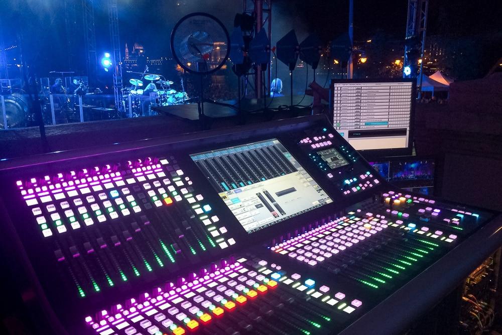 SSL L500 Plus während der Show in Budapest