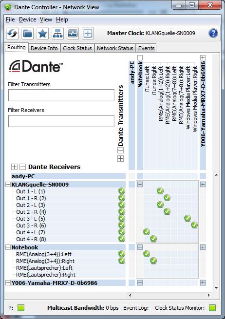 Dante Controller