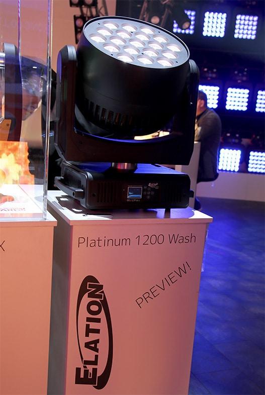Elation Platinum 1200 Wash