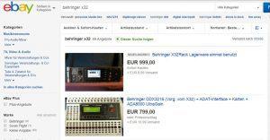 GVT Behringer x32