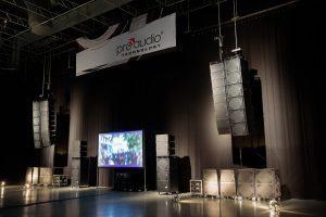 VT20 Groundstack, MidSize und Grand Venue von ProAudio Technology