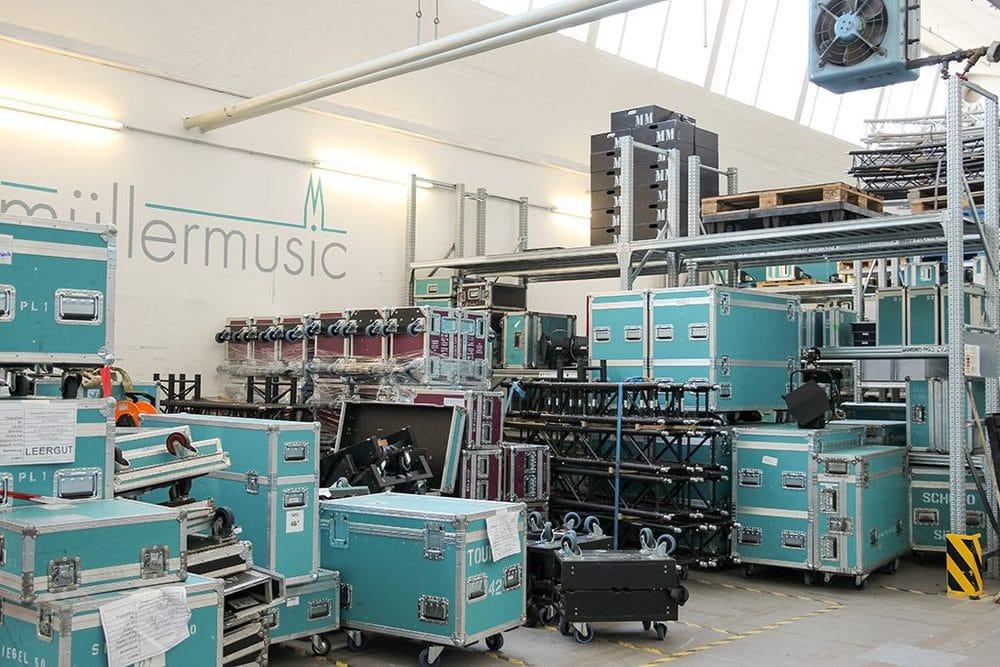 Lager von MüllerMusic