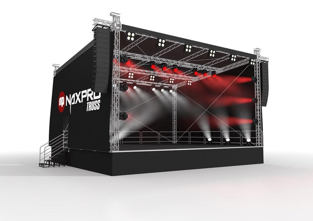 Naxpro-Truss-Bühne