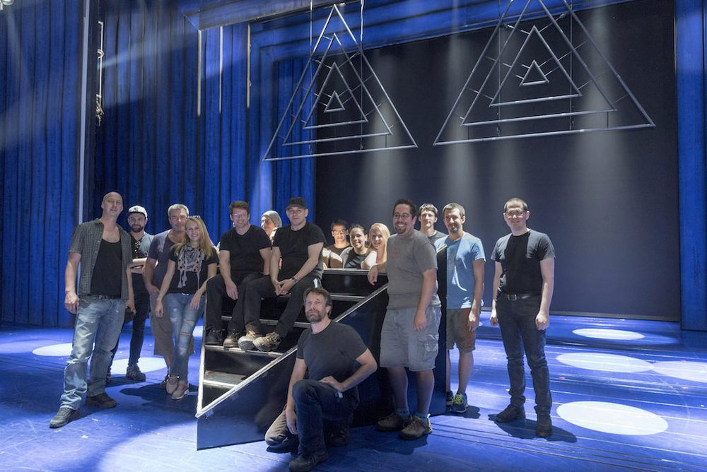Backstage Crew in Köln