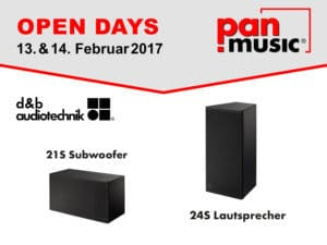 pan-music Open Days 2017