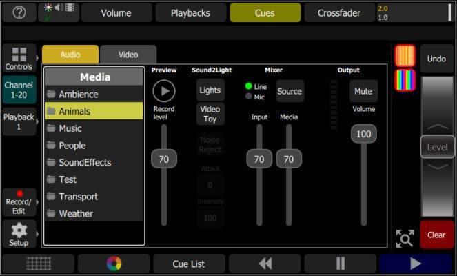 Der User kann die Bilder dabei in puncto Größe, Rotation und Position manuell per Touchscreen beeinflussen