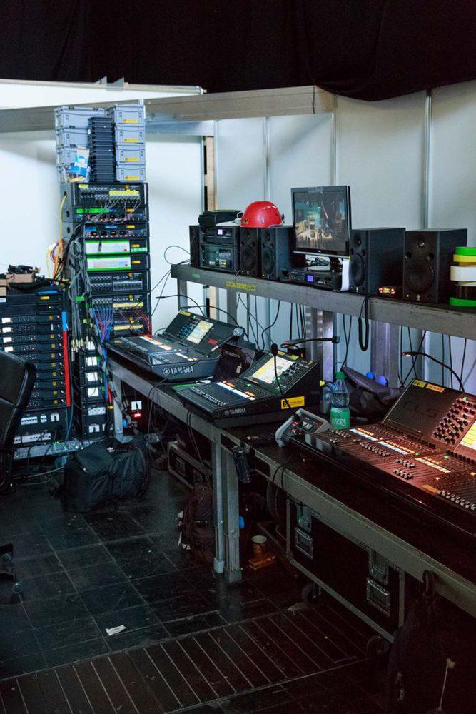 Die zentrale Audioregie