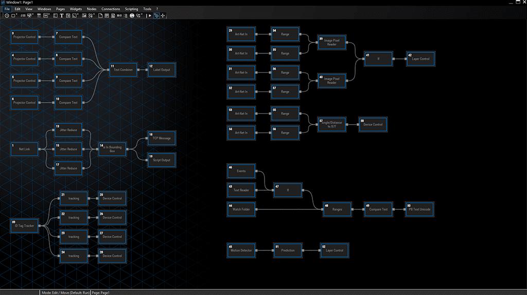 Node System Widget Designer