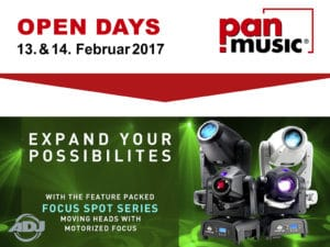 ADJ bei den pan-music Open Days 2017