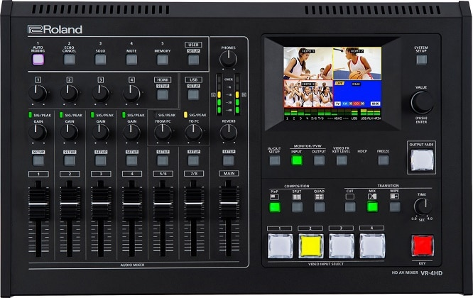VR-4HD Video Switcher