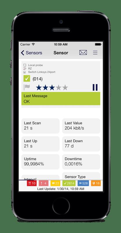 Zur mobilen Überwachung gibt es auch Apps für iOS, Android und Windows-Phone