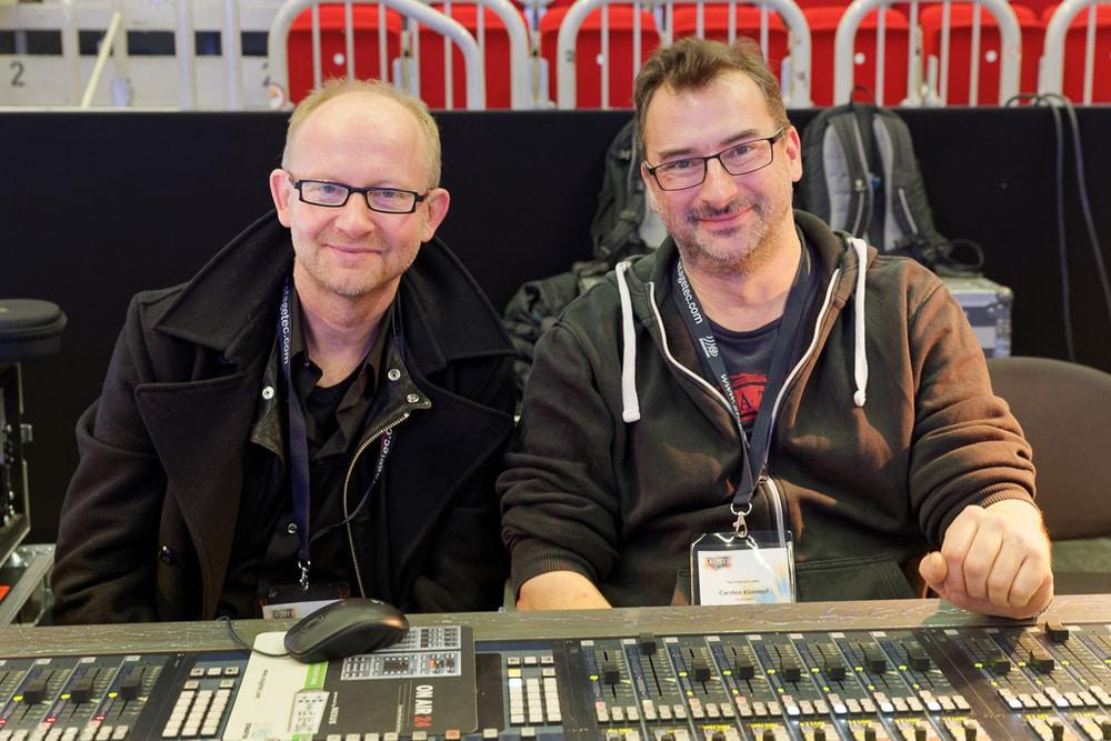Dieter Falk und Carsten Kümmel