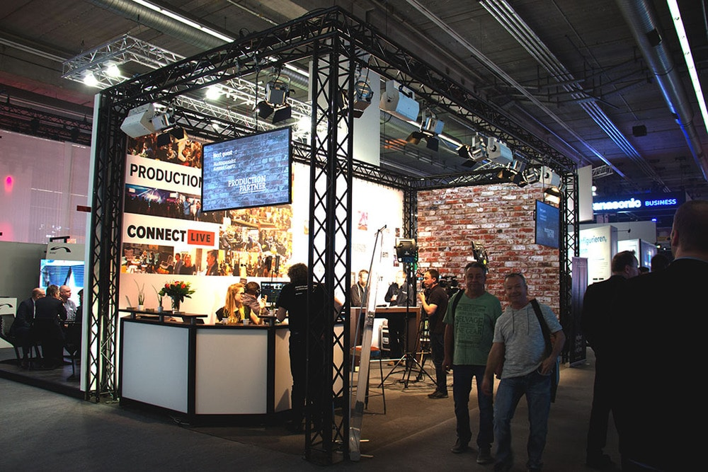 Facebook Live Videostudio auf der Prolight + Sound 2017